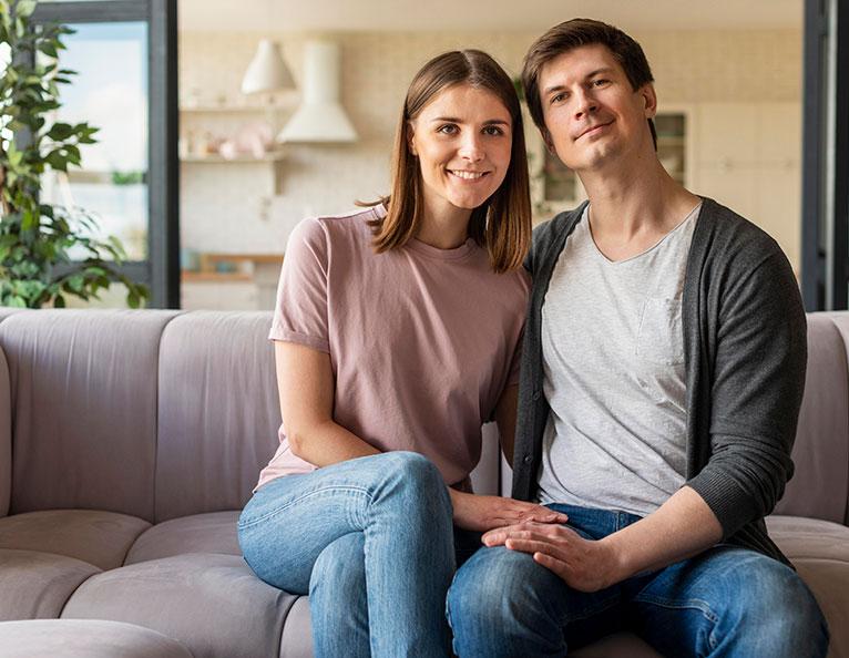 couple julien charline dom-aid menage a domicile